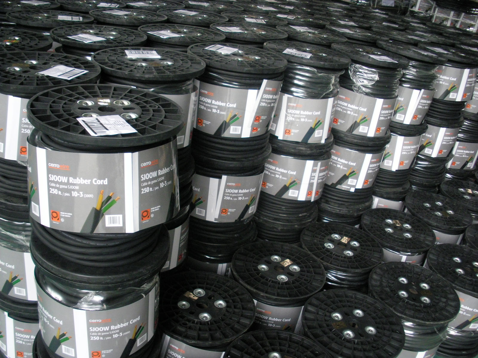 Power Cord Wire Pallet Package