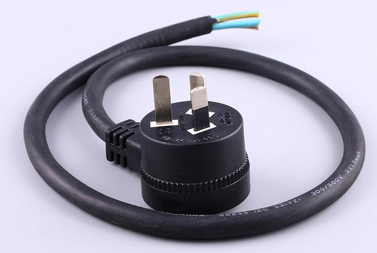 Australia Pigtail Power Cable with socket