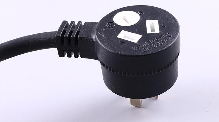 Australia Power Cord Piggy-Back Socket