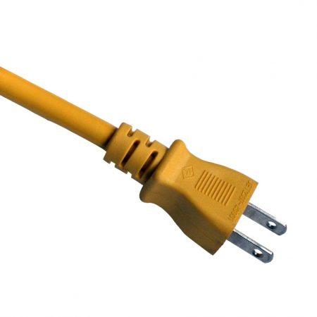 Japan Power Cord 15 Amp 2 Wire Plug JIS 8303 Standard AC Power Supply Cords