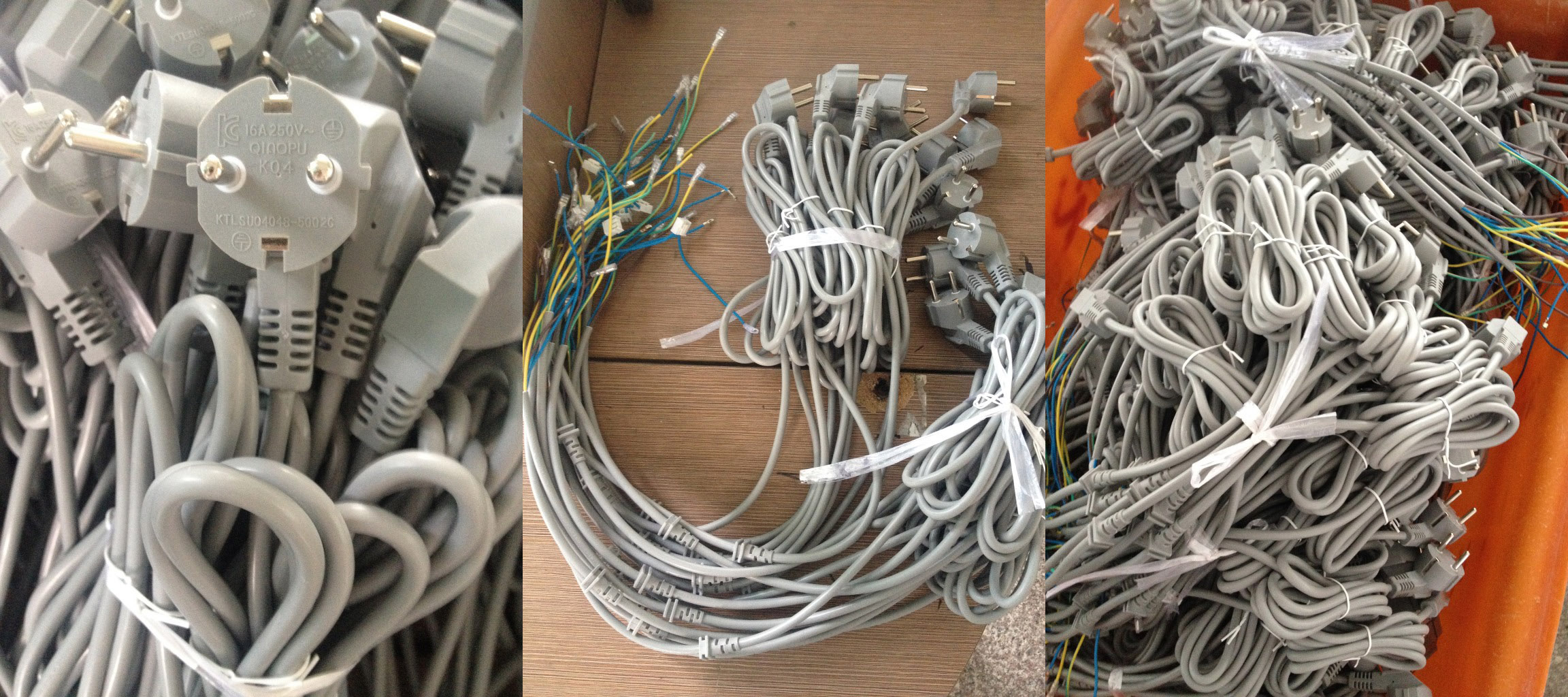 Wiring Power Plug C13 Connector C15 Computer Socket Iec Ac Korea Cord 3 Wire 16 Amp Cee 7 4 Type F Plugksc8305 Standard Supply Without Hole