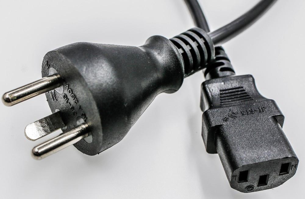 Denmark Power Cord IEC 320 C13