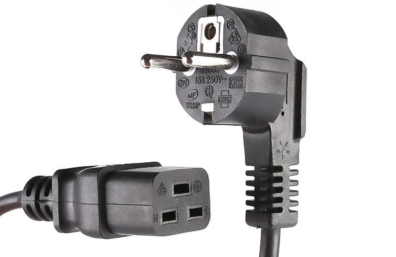 Schuko Power Cord IEC 60320 C19