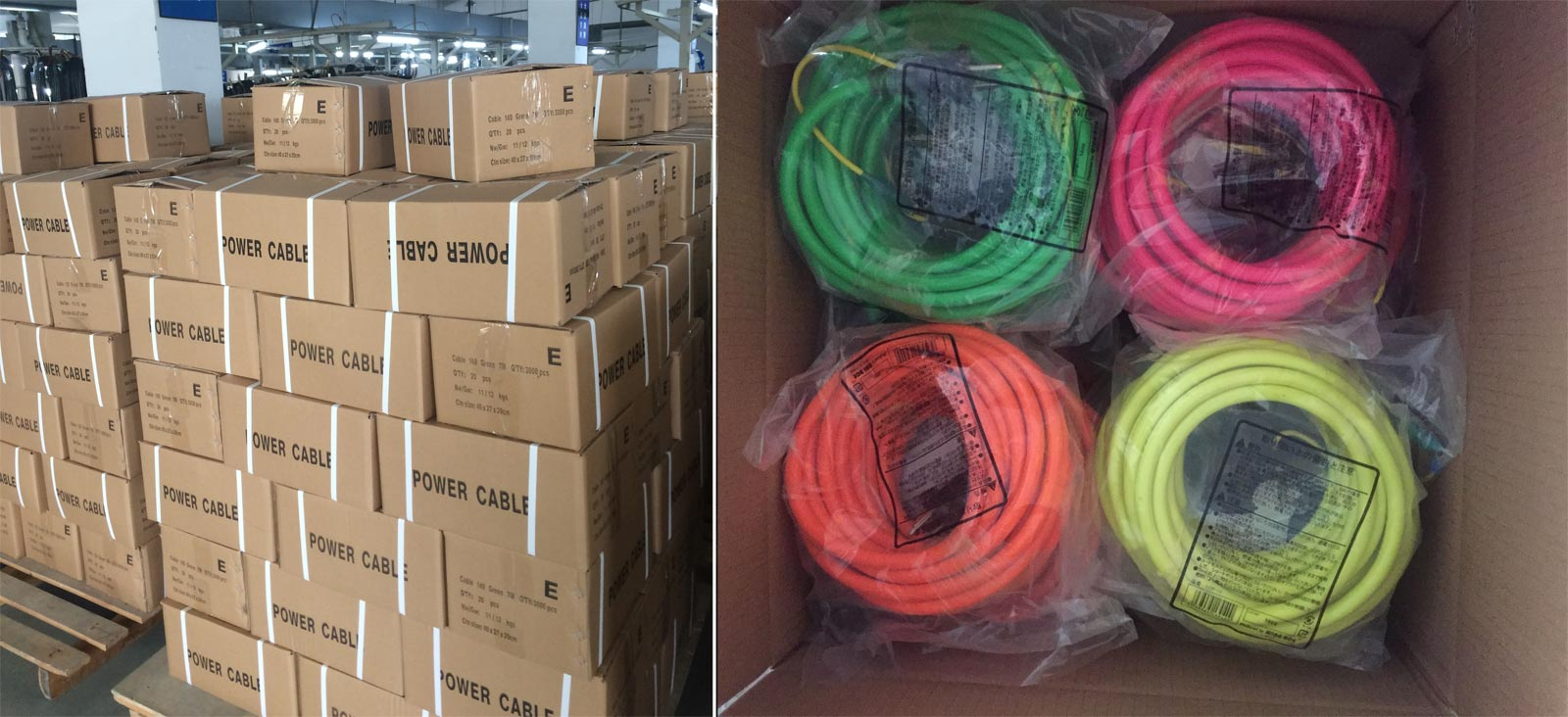 Outdoor Extension Cord Single Outlet 3 Wire Custom Length Color Wiring A Out Packing