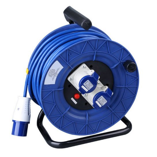 IEC 60309 Extension Cord Reel