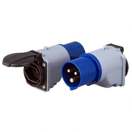 IEC 60309 Plug Adapter Switzerland Receptacle