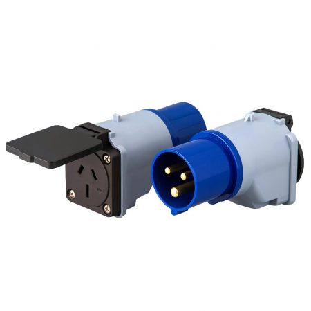 IEC 60309 Plug Hookup Adapter to Australia Receptacle