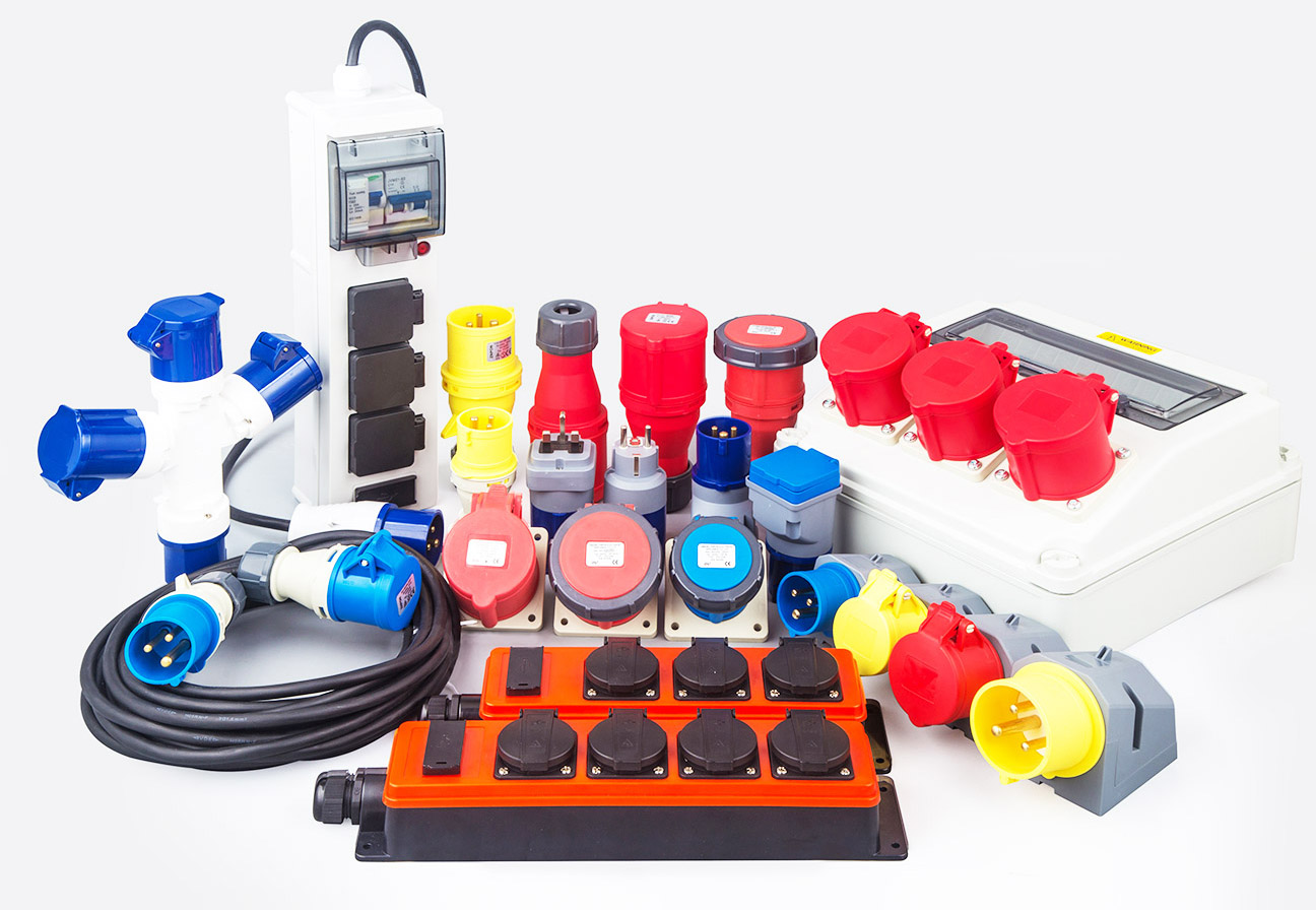 IEC 60309 Plugs Receptacles