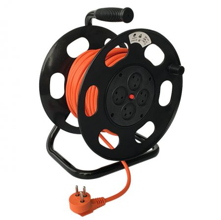 Israel Cable Reel 4 Outlet Extension Cord Reel