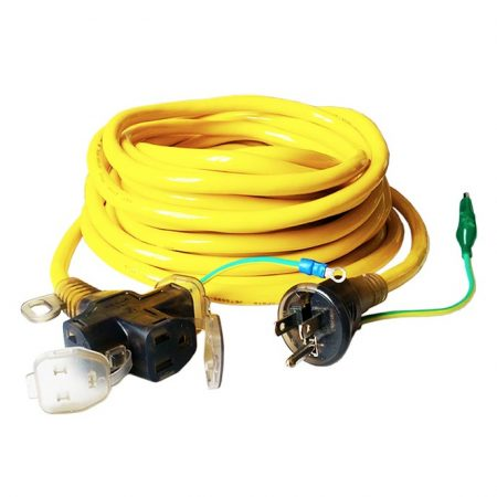 Japan Extension Cord 3 Wire Three Outlet