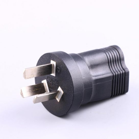 NEMA 5-15R to Australia Plug Adapter