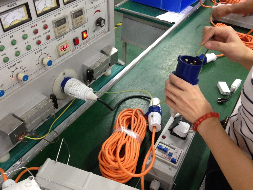 IEC 60309 Adapter Cable Manufacturing