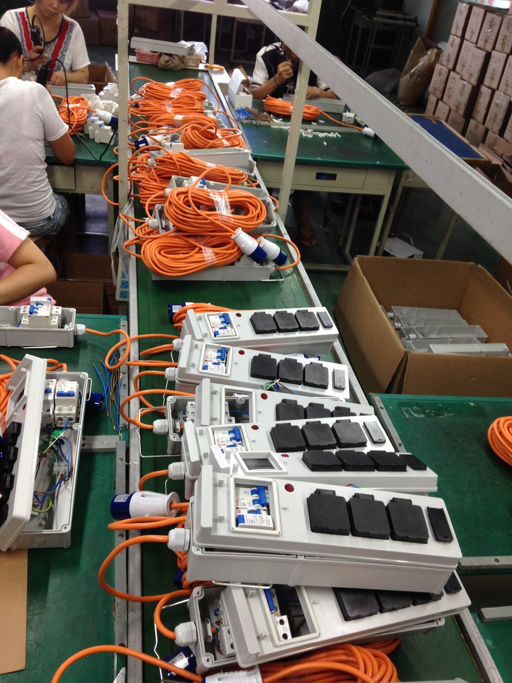 IEC 60309 Adapter Cable Workshop manufacturer assembly