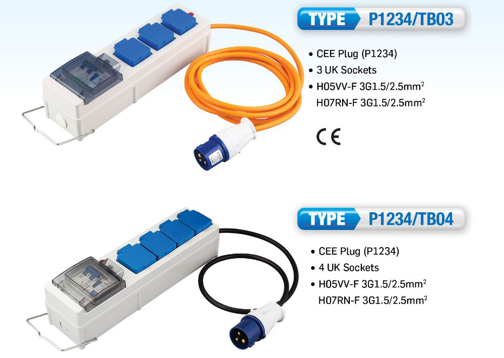 IEC 60309 Adapter Cable