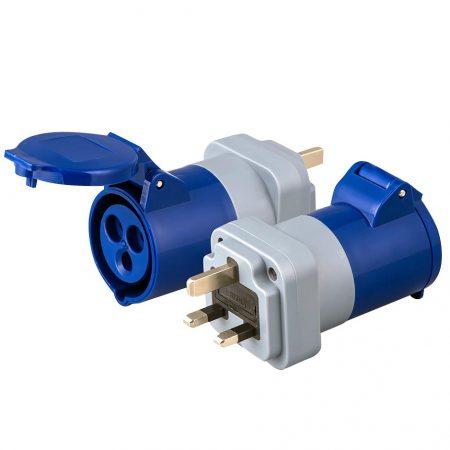 UK Plug IEC 60309 Receptacle