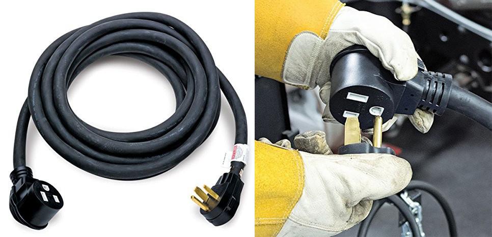 Manufacturer Base 50 Amp Ev    Rv    Welder Extension Cord